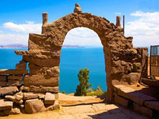 2 peru lake titicaca taquile island arch du perou a la bolivie